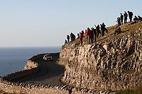 MOTORSPORT - WORLD RALLY CHAMPIONSHIP 2011 - WALES RALLY GB / RALLYE DE GRANDE-BRETAGNE - CARDIFF (GBR) - 10 TO 13/11/2011 - PHOTO : BASTIEN BAUDIN / DPPI - 01 SEBASTIEN LOEB (FRA) / DANIEL ELENA (MCO) - CITROËN DS3 WRC - CITROËN TOTAL WRT - ACTION
