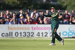 GP Smith of Notts Outlaws in action - Mandatory by-line: Jack Phillips/JMP - 24/06/2016 - CRICKET - The 3aaa County Ground - Derby, United Kingdom - Derbyshire Falcons v Notts Outlaws - Natwest T20 Blast