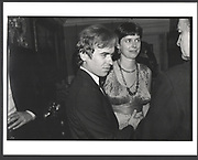 Martin Amis with a pregnant Antonia Phillips. Holland Park. 1985 Exhibition in a Box