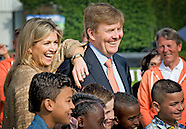 KING GAMES WITH QUEEN MAXIMA AND KING WILLEM ALEXANDER 2015