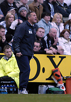 Fotball<br /> FA-cup 2005<br /> Newcastle v Coventry<br /> 29. januar 2005<br /> Foto: Digitalsport<br /> NORWAY ONLY<br /> Coventry manager Micky Adams' efforts on the touchline to galvanise his team is to no avail.