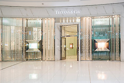 Tiffany and Co shop in Dubai Mall United Arab Emirates
