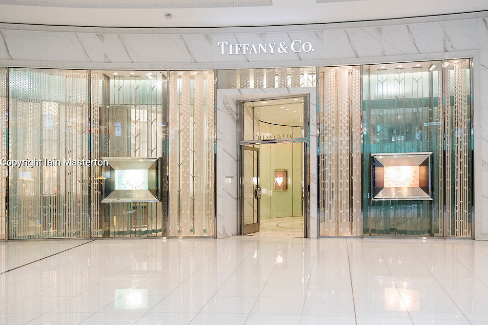 Tiffany and Co shop in Dubai Mall United Arab Emirates