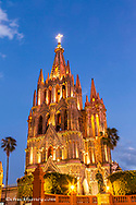 The Parish of San Miguel aka La Parrouquia in San Miguel de Allende, Mexico