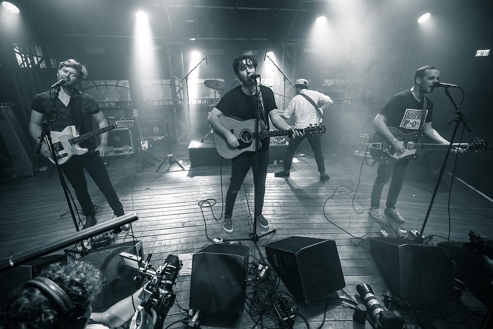 Australian indie-rock band Rolling Blackouts Coastal Fever at Haldern Pop Festival