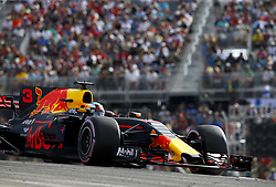 October 21, 2017 - Austin, United States of America - Motorsports: FIA Formula One World Championship 2017, Grand Prix of United States, ..#3 Daniel Ricciardo (AUS, Red Bull Racing) (Credit Image: © Hoch Zwei via ZUMA Wire)