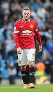 Wayne Rooney of Manchester United dejected at the final whistle - Barclays Premier League - Manchester City vs Manchester Utd - Etihad Stadium - Manchester - England - 2nd November 2014  - Picture David Klein/Sportimage