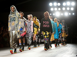 © Licensed to London News Pictures. 21/02/2012. London, UK.  Ashish  Autumn/Winter 2012 collection by designer Ashish Gupta  on day 5 of London Fashion Week 2012, on February 21st, 2012 . Photo credit : Ben Cawthra/LNP