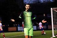 Dorking Wanderers FC 1-1 Stockport County FC 11.1.20