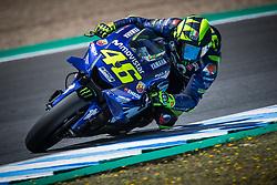 May 5, 2018 - Jerez, France - VALENTINO ROSSI - ITALIAN - MOVISTAR YAMAHA MotoGP - YAMAHA (Credit Image: © Panoramic via ZUMA Press)
