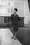 24/04/1964<br /> 04/24/1964<br /> 24 April 1964 <br /> Irish Export Fashion Fair at the Intercontinental Hotel, Dublin. Model wearing Rose Slowey and Co. Ltd., (Abbey Street, Dublin)  design.