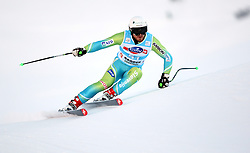 Andrej Krizaj of Slovenia during the Men's Super-G of the Audi FIS Ski World Cup Val Gardena 2009/10, on Friday, December 18, 2009 in Val Gardena  - Groeden, Italy. The Audi FIS Ski World Cup 2009/10 is taking place in South Tyrol until Monday the 21st of December 2009. (Photo by Pierre Teyssot / Sportida.com)