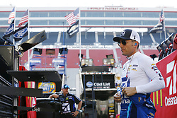 April 13, 2018 - Bristol, Tennessee, United States of America - April 13, 2018 - Bristol, Tennessee, USA: Jamie McMurray (1) hangs out on pit road before qualifying for the Food City 500 at Bristol Motor Speedway in Bristol, Tennessee. (Credit Image: © Chris Owens Asp Inc/ASP via ZUMA Wire)