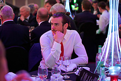 CARDIFF, WALES - Wednesday, June 1, 2016: Wales' Gareth Bale during a charity send-off gala dinner at the Vale Resort Hotel ahead of the UEFA Euro 2016. (Pic by David Rawcliffe/Propaganda)