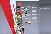 SOELDEN, AUSTRIA. OCTOBER 17 2020:  1st Women's Giant Slalom as part of the Alpine Ski World Cup in Solden on October 17, 2020; Run 2, Mina Fuerst Holtmann (NOR) ( Pierre Teyssot/ESPA Images-Image of Sport)