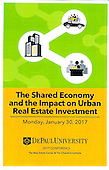 Shared Economy and the Impact on Urban Real Estate Investment