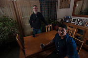 COLUMBIA, MD -- 12/20/14 -- Mark Johnson-Lewis, 48, and his son, Tyler Lewis, 22, talk about the complexity of being a biracial family..…by André Chung #_AC17507