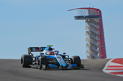 November 3, 2019, Austin, TX, USA: AUSTIN, TX - NOVEMBER 03: Williams Mercedes driver George Russell (63) of Great Britain enters turn 10 during the F1 - U.S. Grand Prix race at Circuit of The Americas on November 3, 2019 in Austin, Texas. (Photo by Ken Murray/Icon Sportswire) (Credit Image: © Ken Murray/Icon SMI via ZUMA Press)