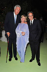 HENRY WYNDHAM and the EARL & COUNTESS OF MARCH at a dinner hosted by Cartier in celebration of the Chelsea Flower Show held at Battersea Power Station, 188 Kirtling Street, London SW8 on 23rd May 2011.