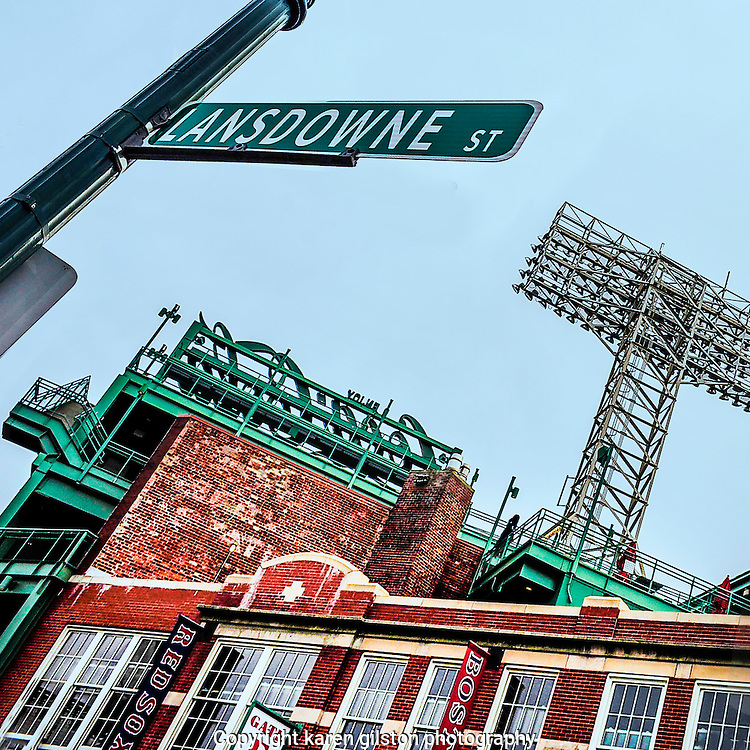 Fenway Park in Abstract