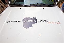Cambodia Landmine Museum Vehicle