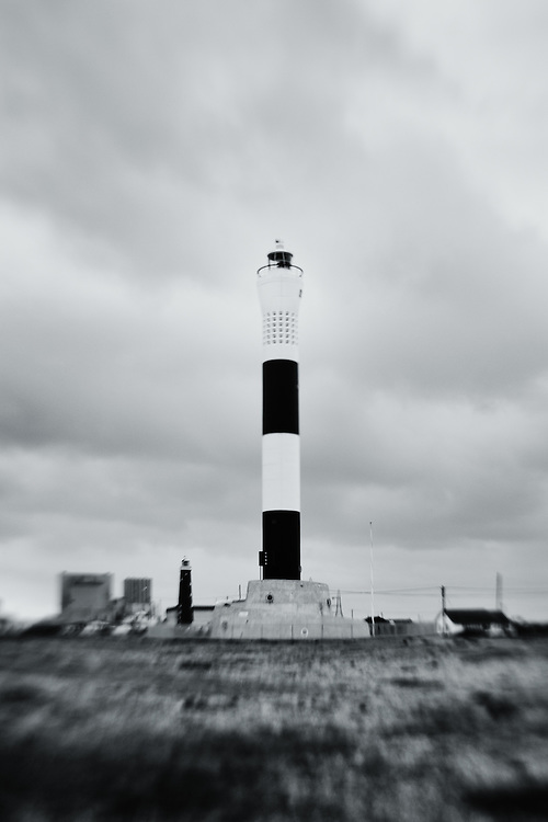 The lighthouses at Dungeness, UK