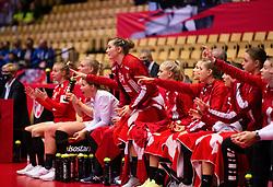 HERNING, DENMARK - DECEMBER 4: Rikke Iversen reacts during the EHF Euro 2020 Group A match between Denmark and Slovenia in Jyske Bank Boxen, Herning, Denmark on December 4, 2020. Photo Credit: Allan Jensen/EVENTMEDIA.
