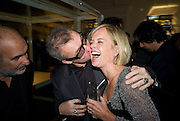 ALAN YENTOB; DAMIEN HIRST; MARIELLA FROSTROP, Damien Hirst party to preview his exhibition at Sotheby's. New Bond St. London. 12 September 2008 *** Local Caption *** -DO NOT ARCHIVE-© Copyright Photograph by Dafydd Jones. 248 Clapham Rd. London SW9 0PZ. Tel 0207 820 0771. www.dafjones.com.