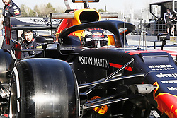 February 18, 2019 - Barcelona, Catalonia, Spain - Max Verstappen (Aston Martin Red Bull Racing) during the winter test days at the Circuit de Catalunya in Montmelo (Catalonia), February 18, 2019. (Credit Image: © Fernado Pidal/NurPhoto via ZUMA Press)