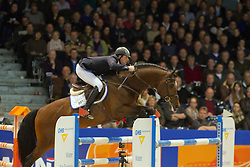 Keunen Pieter (NED) - Vittorio<br /> KWPN Hengstenkeuring - 's Hertogenbosch 2012<br /> © Dirk Caremans