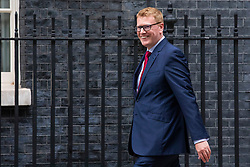 © Licensed to London News Pictures. 04/06/2018. London, UK. Stephen Martin, Director General Institute of Directors, arrives on Downing Street for a meeting of business leaders with Prime Minister Theresa May, The Chancellor of The Exchequer Philip Hammond, Secretary of State for International Trade Liam Fox and Secretary of State for Exiting the European Union David Davis. Photo credit: Rob Pinney/LNP