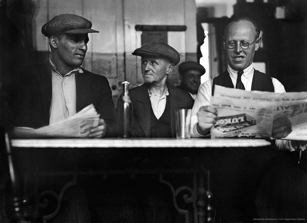 Limehouse, West India Docks, London, 1934