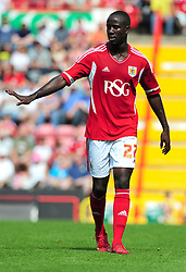 Bristol City's Albert Adomah - Photo mandatory by-line: Joseph Meredith / JMPUK - 30/07/2011 - SPORT - FOOTBALL - Championship - Bristol City v West Bromwich Albion - Ashton Gate Stadium, Bristol, England