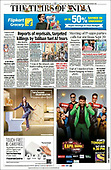 August 21, 2021 - ASIA-PACIFIC: Front-page: Today's Newspapers In Asia-Pacific