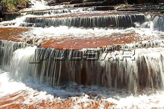 Cachoeira do Lajeado - Rio Lajeado em Ponte Alta do Tocantins  Local: Ponte Alta do Tocantins - TO Data: 02/2008 Tombo:  19DM014 Autor: Delfim Martins