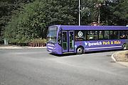 Park and ride bus, Ipswich, Suffolk, England