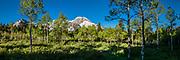 Panorama of Mt. Timpanogos from Alpine Loop