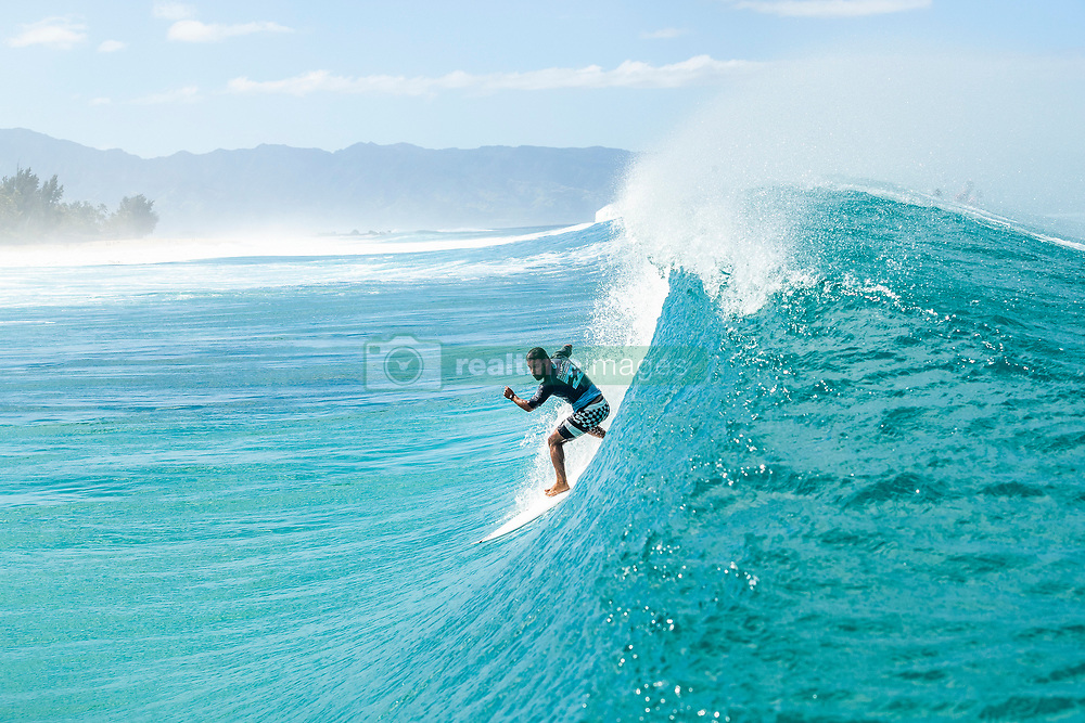 December 16, 2018 - Pupukea, Hawaii, U.S. - Tomas Hermes (BRA) is eliminated from the 2018 Billabong Pipe Masters with an equal 25 finish after placing second in Heat 12 of Round 2. (Credit Image: © Kelly Cestari/WSL via ZUMA Wire)