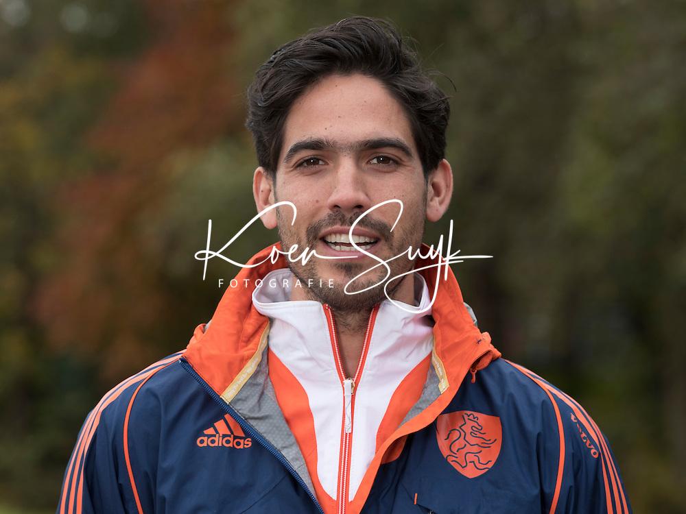 UTRECHT - Fysio Stefan Hoogewerff. Jong Oranje hockey meisjes -21. COPYRIGHT KOEN SUYK