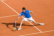 Paris, France. May 24th 2009. .Roland Garros - Tennis French Open. 1st Round..French player Gilles Simon against Wayne Odesnik..