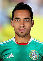 Football Fifa Brazil 2014 World Cup / <br /> Mexico National Team - <br /> Adrian Aldrete of Mexico