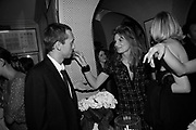 Dan Macmillan and Jemima Khan,  Charles Finch and Chanel 7th Anniversary Pre-Bafta party to celebratew A Great Year of Film and Fashiont at Annabel's. Berkeley Sq. London W1. 10 February 2007. -DO NOT ARCHIVE-© Copyright Photograph by Dafydd Jones. 248 Clapham Rd. London SW9 0PZ. Tel 0207 820 0771. www.dafjones.com.