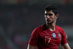 June 7, 2018 - Lisbon, Portugal - Portugal's forward Goncalo Guedes during the FIFA World Cup Russia 2018 preparation football match Portugal vs Algeria, at the Luz stadium in Lisbon, Portugal, on June 7, 2018. (Portugal won 3-0) (Credit Image: © Pedro Fiuza/NurPhoto via ZUMA Press)