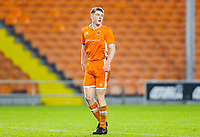 Blackpool's Will Avon<br /> <br /> Photographer Alex Dodd/CameraSport<br /> <br /> The FA Youth Cup Third Round - Blackpool U18 v Derby County U18 - Tuesday 4th December 2018 - Bloomfield Road - Blackpool<br />  <br /> World Copyright © 2018 CameraSport. All rights reserved. 43 Linden Ave. Countesthorpe. Leicester. England. LE8 5PG - Tel: +44 (0) 116 277 4147 - admin@camerasport.com - www.camerasport.com