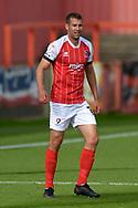 Matty Blair (11) of Cheltenham Town during the EFL Sky Bet League 2 match between Cheltenham Town and Crawley Town at Jonny Rocks Stadium, Cheltenham, England on 10 October 2020.