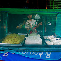 Noodle Vendor by Naw Aye Aye Thet