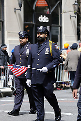 April 27, 2019 - New York City, New York, US - The Sikh Cultural Society of New York hosted the 32nd. annual Sikh Day Parade down New York City's Madison Avenue on 27 April, 2019, and a festival at the end of the parade route at Madison Park. (Credit Image: © G. Ronald Lopez/ZUMA Wire)
