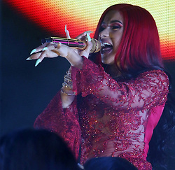 AU_1444877 - Perth, AUSTRALIA  -  Cardi B performs at Origin Fields Music and Culture Festival at Langley Park in Perth, Western Australia<br /> <br /> Pictured: Cardi B<br /> <br /> BACKGRID Australia 30 DECEMBER 2018 <br /> <br /> BYLINE MUST READ: FAITH MORAN / BACKGRID<br /> <br /> Phone: + 61 2 8719 0598<br /> Email:  photos@backgrid.com.au