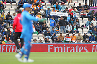 Cricket - 2019 ICC Cricket World Cup - Group Stage: South Africa vs. India<br /> <br /> A funny sign held up during the South Africian innings at the Hampshire Bowl Southampton England<br /> <br /> COLORSPORT/SHAUN BOGGUST