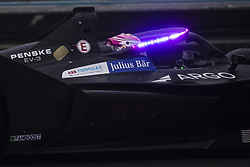 October 19, 2018 - Valencia, Spain - 06 FUOCO Antonio (ita), GEOX DRAGON Team with Halo in mode fanboost  during the Formula E official pre-season test at Circuit Ricardo Tormo in Valencia on October 16, 17, 18 and 19, 2018. (Credit Image: © Xavier Bonilla/NurPhoto via ZUMA Press)